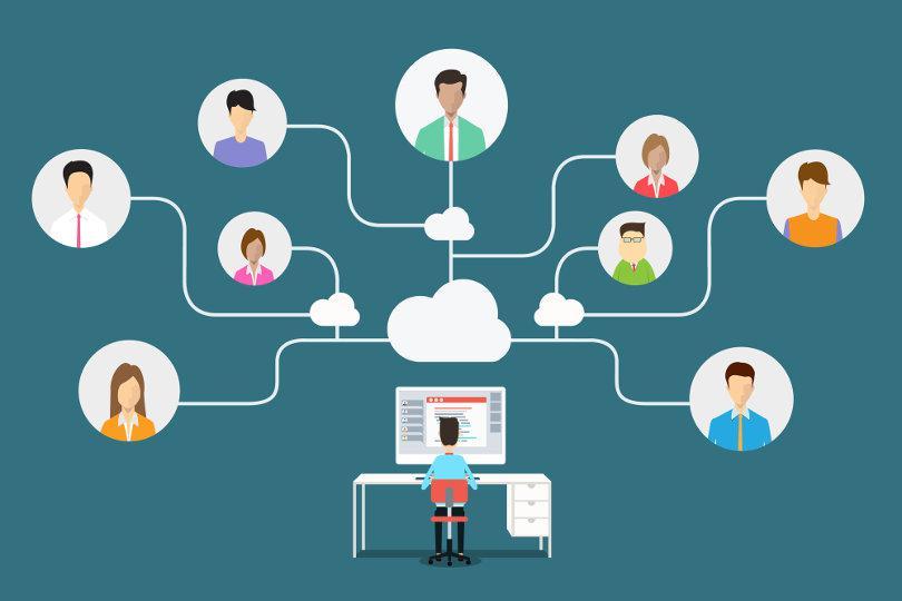 Online training voor leiders op afstand
